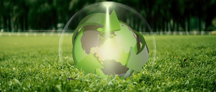 摄图网_401722016_wx_草地上的地球(企业商用).jpg